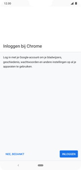 Nokia 7.1 - Android Pie - internet - hoe te internetten - stap 4