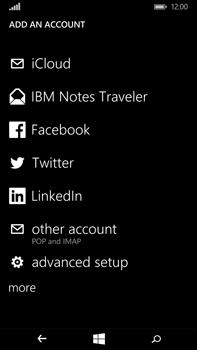 Microsoft Lumia 640 XL - Email - Manual configuration POP3 with SMTP verification - Step 7
