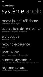 HTC Windows Phone 8X - Téléphone mobile - Réinitialisation de la configuration d