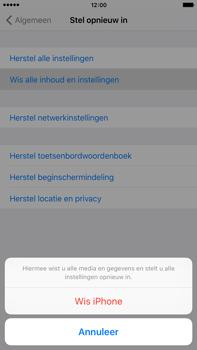 Apple iPhone 6s Plus - Resetten - Fabrieksinstellingen terugzetten - Stap 6