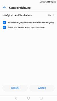 Huawei Mate 9 - E-Mail - Manuelle Konfiguration - Schritt 18