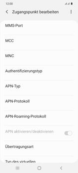 Samsung Galaxy S20 5G - Internet und Datenroaming - Manuelle Konfiguration - Schritt 13