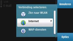Nokia N97 - e-mail - handmatig instellen - stap 9
