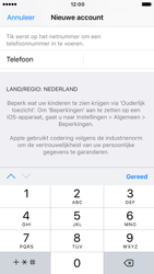 Apple iPhone 6s (iOS 10) - apps - account instellen - stap 23