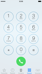 Apple iPhone 5 iOS 8 - Voicemail - Manual configuration - Step 5