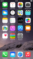 Apple iPhone 6 iOS 8 - Applications - Personnaliser l