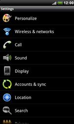 HTC S510e Desire S - Voicemail - Manual configuration - Step 4