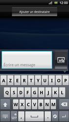Sony Xperia Neo V - MMS - Envoi d