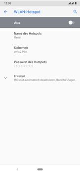 Nokia 7.2 - WiFi - So aktivieren Sie einen WLAN-Hotspot - Schritt 11