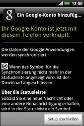 HTC Explorer - Apps - Konto anlegen und einrichten - 14 / 19