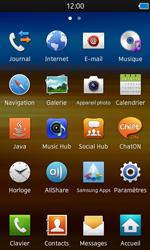 Samsung S8600 Wave 3 - Wifi - configuration manuelle - Étape 2