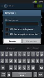 Samsung G386F Galaxy Core LTE - WiFi - configuration du Wi-Fi - Étape 7