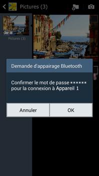 Samsung Galaxy Note 3 - Photos, vidéos, musique - Envoyer une photo via Bluetooth - Étape 13