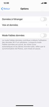 Apple iPhone 11 Pro - iOS 14 - Internet et roaming de données - Désactivation du roaming de données - Étape 6