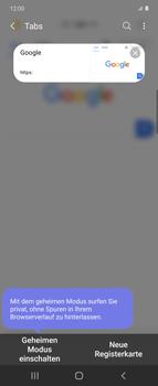 Samsung Galaxy Z flip - Internet und Datenroaming - Verwenden des Internets - Schritt 15