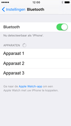 Apple iPhone 5 (iOS 9) - bluetooth - headset, carkit verbinding - stap 5