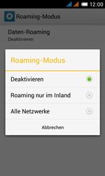 Alcatel Pop C3 - Ausland - Im Ausland surfen – Datenroaming - 11 / 15