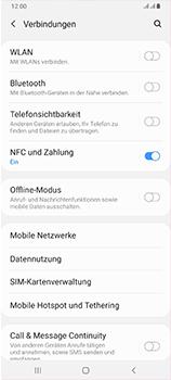 Samsung Galaxy A70 - Netzwerk - Manuelle Netzwerkwahl - Schritt 5