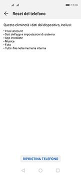 Huawei Nova 5T - Dispositivo - Ripristino delle impostazioni originali - Fase 7