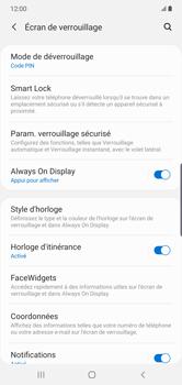 Samsung Galaxy Note10 Plus - Sécurité - activéz le code PIN de l'appareil - Étape 13