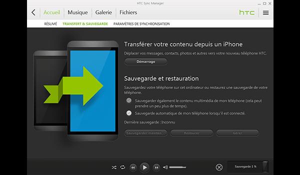 HTC One M9 - Logiciels - Comment effectuer une sauvegarde de votre appareil - Étape 6
