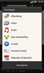 HTC C525u One SV - MMS - afbeeldingen verzenden - Stap 12