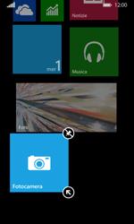 Nokia Lumia 635 - Operazioni iniziali - Personalizzazione della schermata iniziale - Fase 7