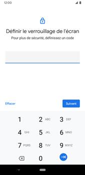 Google Pixel 3a - Sécuriser votre mobile - Activer le code de verrouillage - Étape 8