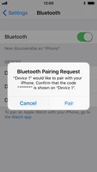 Apple iPhone 5s - iOS 11 - Bluetooth - Connecting devices - Step 8