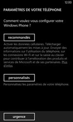 Nokia Lumia 625 - Premiers pas - Créer un compte - Étape 5