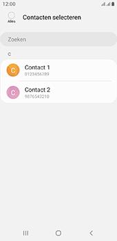 Samsung galaxy-a6-sm-a600fn-ds-android-pie - Contacten en data - Contacten kopiëren van SIM naar toestel - Stap 9