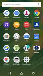 Sony Xperia X Performance - MMS - Erstellen und senden - 1 / 1