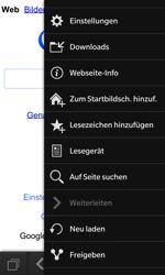 BlackBerry Z10 - Internet und Datenroaming - Verwenden des Internets - Schritt 6