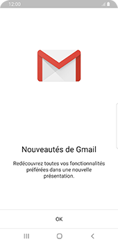 Samsung Galaxy S9 Android Pie - E-mail - Configuration manuelle (gmail) - Étape 4
