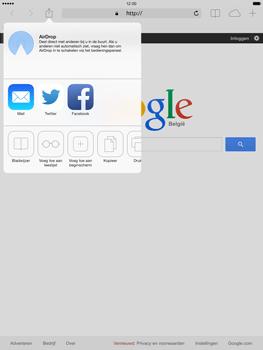 Apple iPad Air - Internet - hoe te internetten - Stap 6