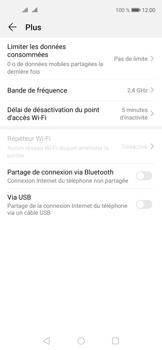 Huawei Nova 5T - Internet et connexion - Utiliser le mode modem par USB - Étape 8
