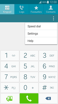 Samsung N910F Galaxy Note 4 - Voicemail - Manual configuration - Step 5