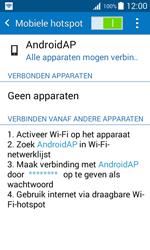 Samsung Galaxy J1 (SM-J100H) - WiFi - Mobiele hotspot instellen - Stap 12