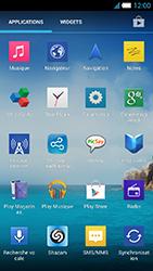 Alcatel One Touch Idol S - WiFi - configuration du WiFi - Étape 5