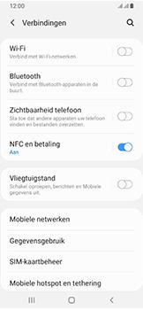 Samsung galaxy-a40-dual-sim-sm-a405fn - NFC - NFC activeren - Stap 6