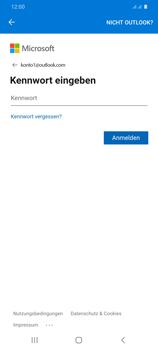 Samsung Galaxy S20 Plus 5G - E-Mail - 032c. Email wizard - Outlook - Schritt 9