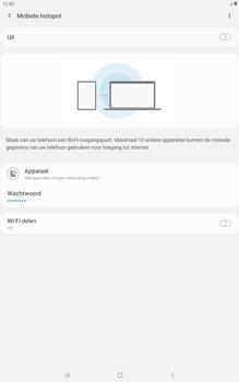 Samsung galaxy-tab-a-10-1-lte-2019-sm-t515 - WiFi - Mobiele hotspot instellen - Stap 7