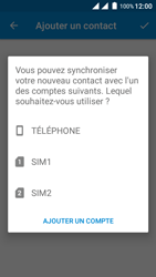 Wiko Freddy - Contact, Appels, SMS/MMS - Ajouter un contact - Étape 9