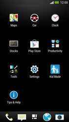 HTC One - Applications - Setting up the application store - Step 3