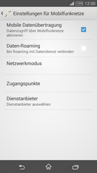 Sony Xperia T3 - Internet - Manuelle Konfiguration - 0 / 0