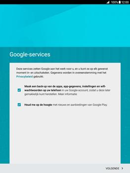 Samsung Galaxy Tab A 9.7 (SM-T555) - Applicaties - Account aanmaken - Stap 14