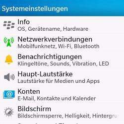 BlackBerry Q10 - Internet und Datenroaming - Manuelle Konfiguration - Schritt 4