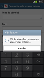 Samsung Galaxy S 4 Mini LTE - E-mail - configuration manuelle - Étape 10