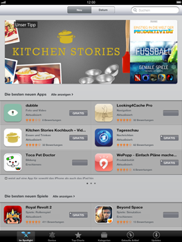 Apple iPad 3 - Apps - Herunterladen - Schritt 4