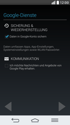 LG D620 G2 mini - Apps - Konto anlegen und einrichten - Schritt 13